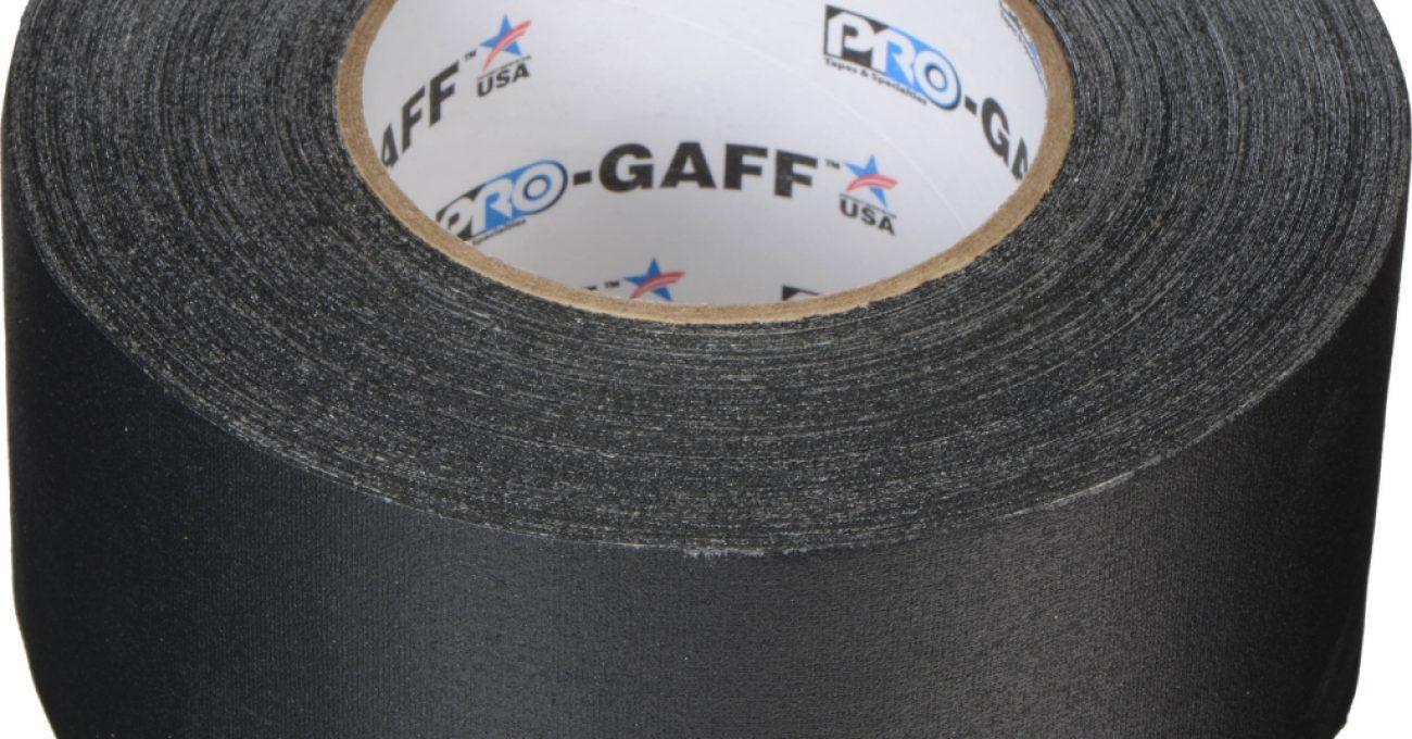 General_Brand_001UPCG355MBLA_Pro_Gaffer_Cloth_Tape_812219